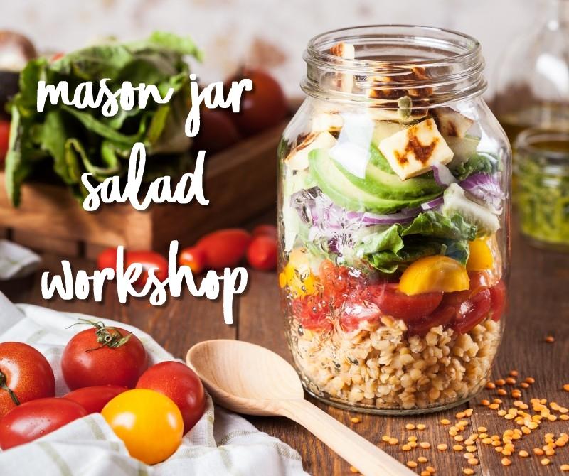 image of mason jar salad