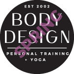 Body Design logo with Spring watermark