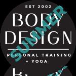 Body Design Logo - Summer Version