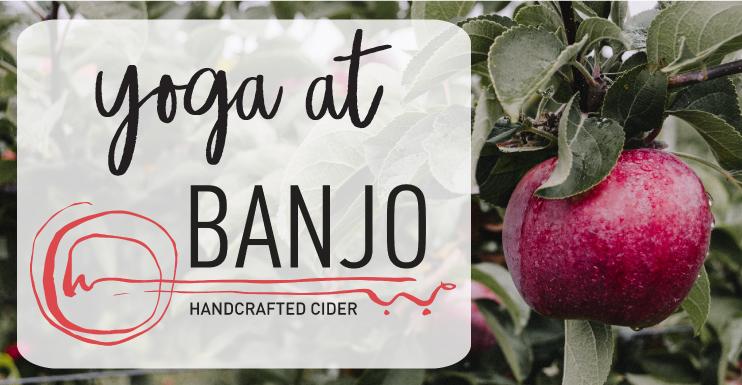 Yoga at Banjo Cider